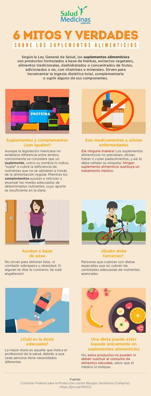 Mitos y verdades sobre los suplementos alimenticios
