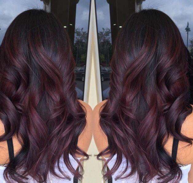 17 Mejores Ideas Sobre Mechas De Color Rojo Violeta En