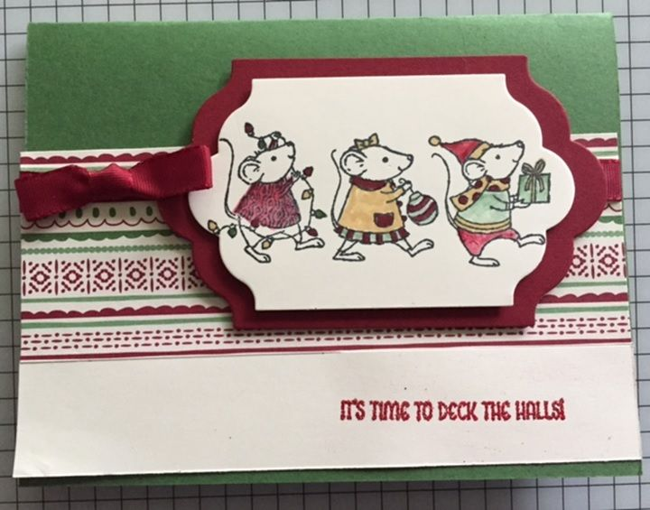 Mice parade by CAR372 - Cards and Paper Crafts at Splitcoaststampers