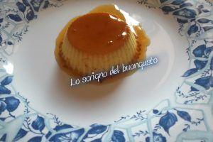 Crème caramel aromatizzato alla vaniglia
