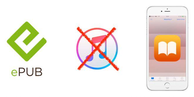 Cómo añadir eBooks a iBooks sin pasar por iTunes