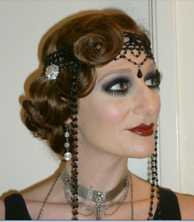 1920 39 S Hair And Make Up 1920s Glamour Pinterest 1920s Gatsby And 1920s Hair