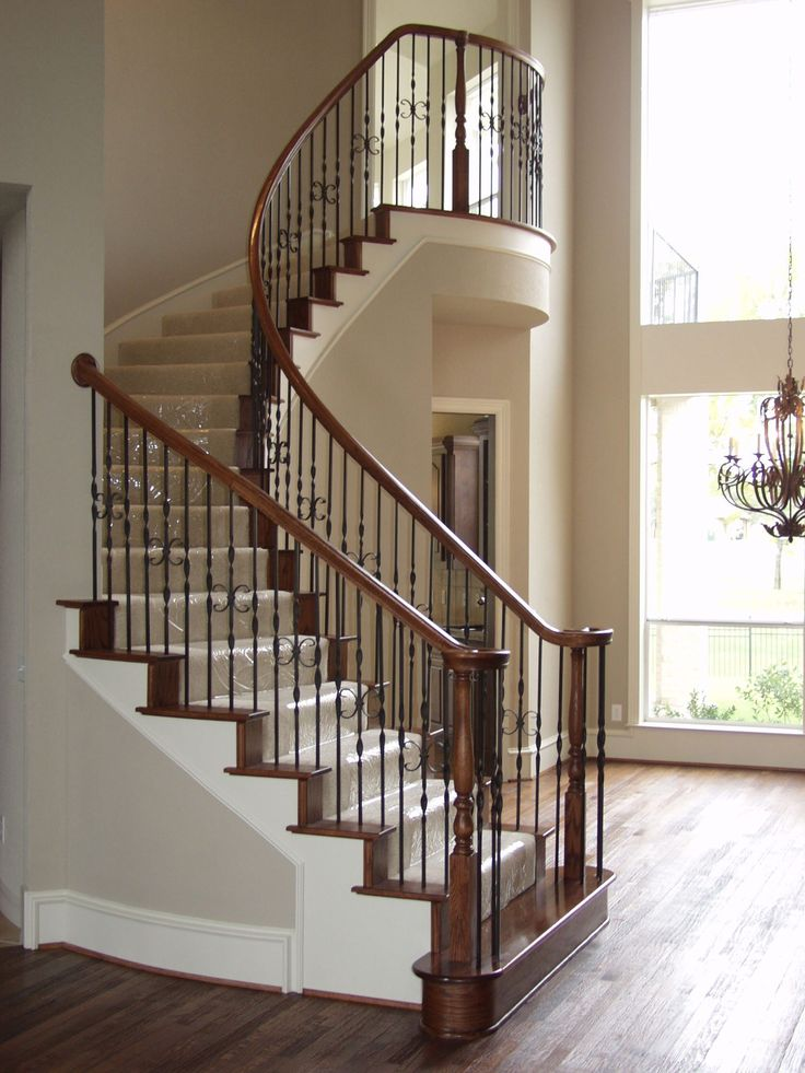 Best 27 Best Images About Ribbon Twist Iron Baluster Stair 400 x 300