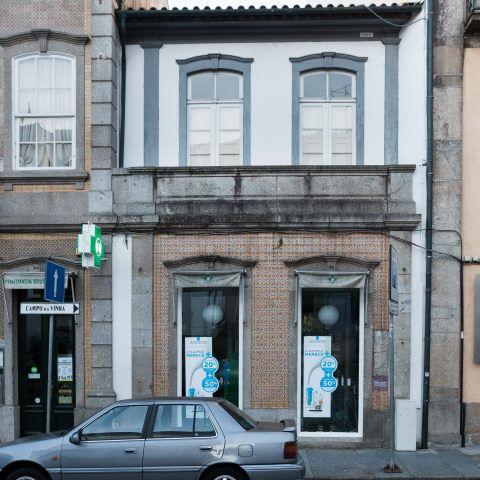 Braga | Rua Dom Frei Caetano Brandão, n.º 30-32 [© Libório Manuel Silva] #Azulejo #AzInfinitum #ILoveBraga