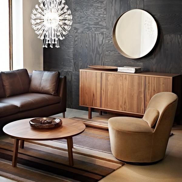 30 modern interior design ideas blending brown color for Brown neutral living room ideas