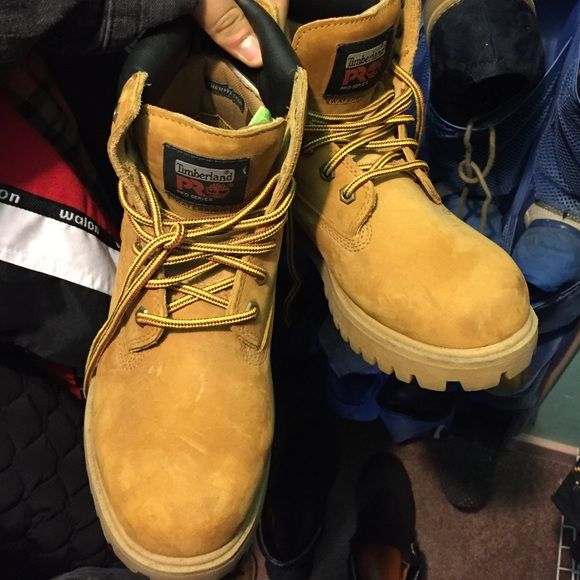 Timberland Pro Series size 6 in men's women's 8 Brand new never used. Waterproof label Timberland Shoes Lace Up Boots
