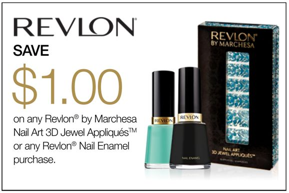 Revlon Canada: Save $1 on Revlon Nail Art 3D Jewel Appliqués or Revlon Nail Enamel Purchase