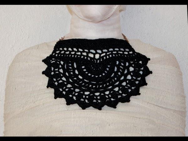 Dark Crochet   100% cotton_handmade   MADE IN ITALY #handmade