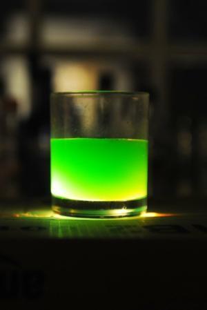 St. Patrick's Day drinks.
