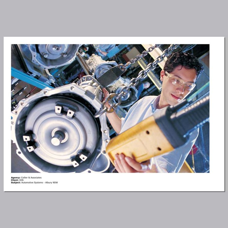 Client - ION Industries, Annual Report.  Automotive Systems. Albury, Australia