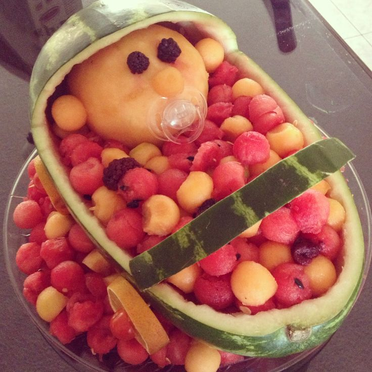 Carreola De Frutas Baby Shower Pinterest