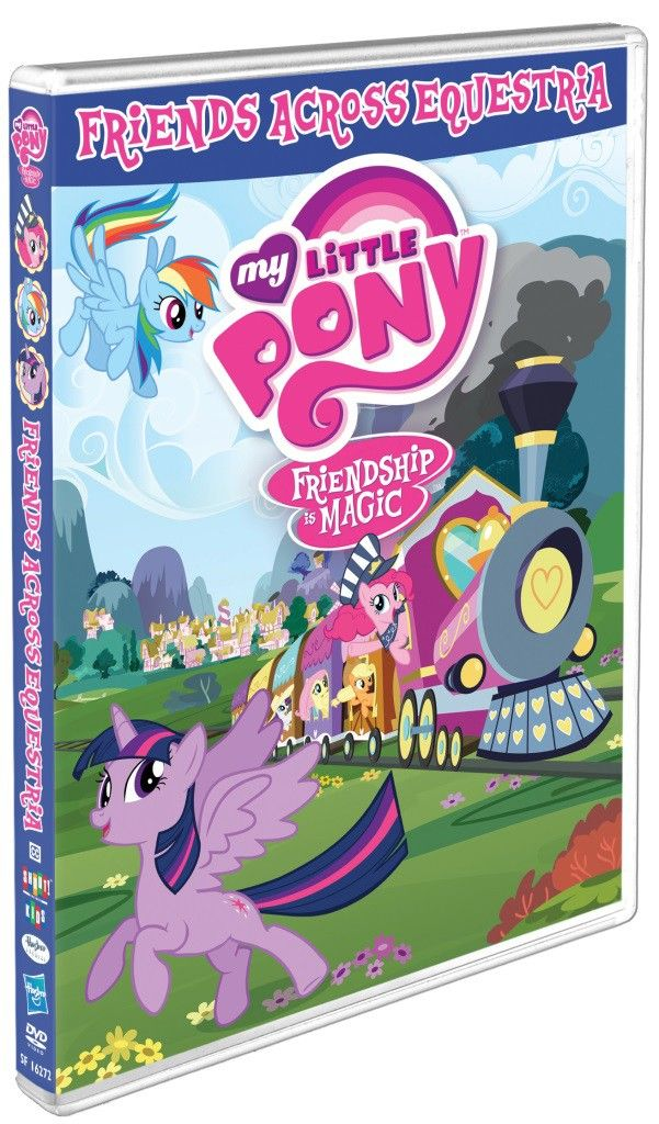 Make new friends with the most powerful magic in Equestria! The newest DVD release of My Little Pony – Friendship Is Magic contains 5 episodes.