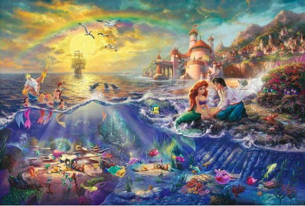 Awesome Disney Paintings & Drawings - Likes