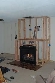 Image result for surround for ventless gas fireplace diy