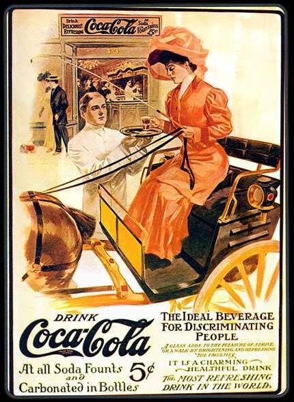 . or mais de 120 anos, a Coca-Cola foi um ícone para a cultura popular americana e hoje é a marca mais conhecida e vendida do mundo. criada por John Pemberton como um remédio em 1886, chegou a reco…