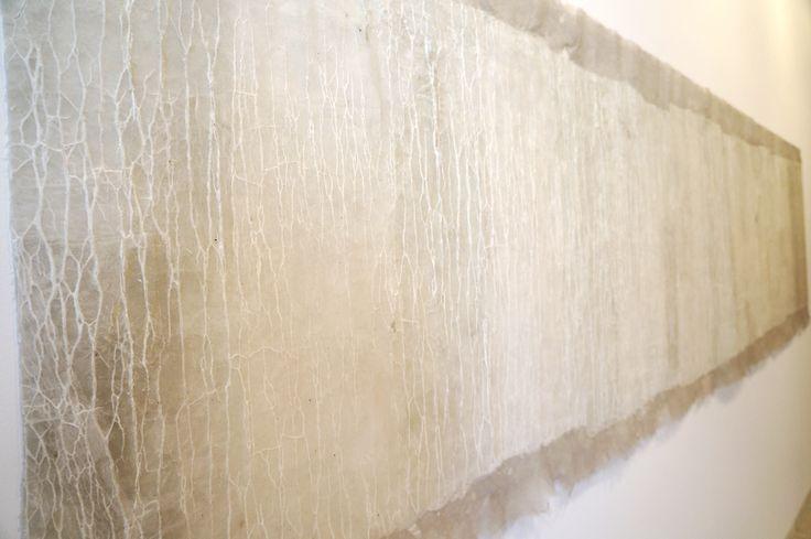 """Eva Lootz. Exposición """"Lootz, Miura y Schlosser. Obras de los años 70 y 80"""" Museo Patio Herreriano de Valladolid. #arte #artecontemporáneo #Arterecord 2015 https://twitter.com/arterecord"""