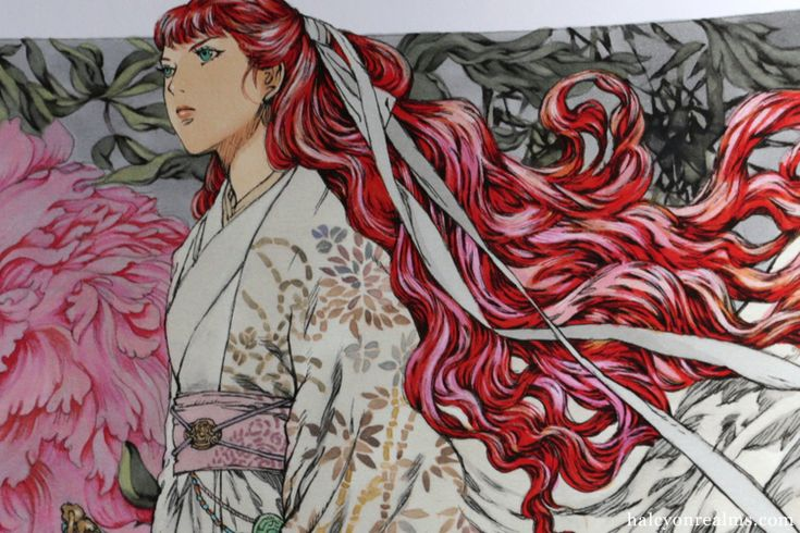 The Twelve Kingdoms – Yamada Akihiro Art Book Review