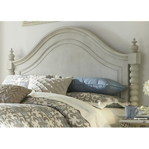 Beachcrest Home Stamford Panel Headboard Finish Dove Gray