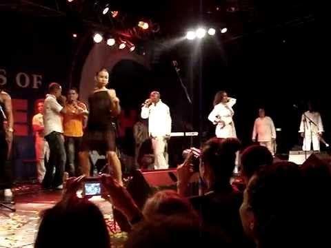 Kirenia Cantin. Best reggaeton show. La Charanga Habanera concert in Munich