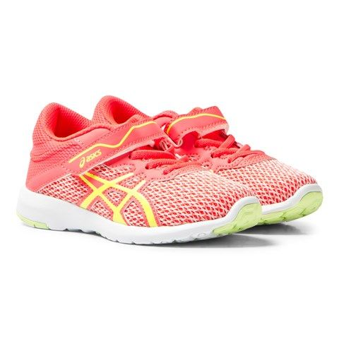 Asics Pink FuzeX Lyte 2 PS Trainers