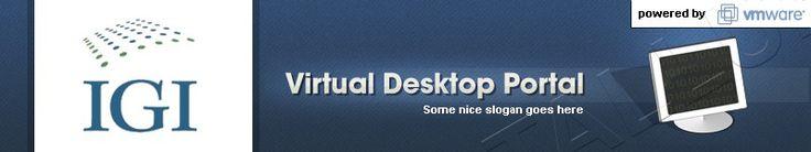 Virtual Desktop Portal Login Page - Need an easy creative logo! by Augustas