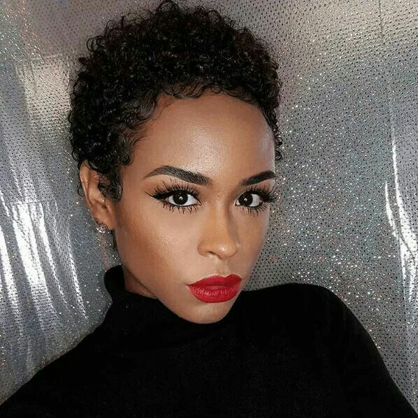 Beautifully Defined TWA Curls, See How to Define TWA (Teeny Weeny Afro) Curls Similarly Here: http://www.naturalhairmag.com/defined-curls-twa-pixie-hairstyle-3/ IG:@beatbynesh  #naturalhairmag #naturalhair