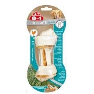 8in1 Европа Кости  для чистки зубов с мясом 14 см 1 шт. - Интернет зоомагазин Dogstars. Купить корм для собак и кошек в Николаеве