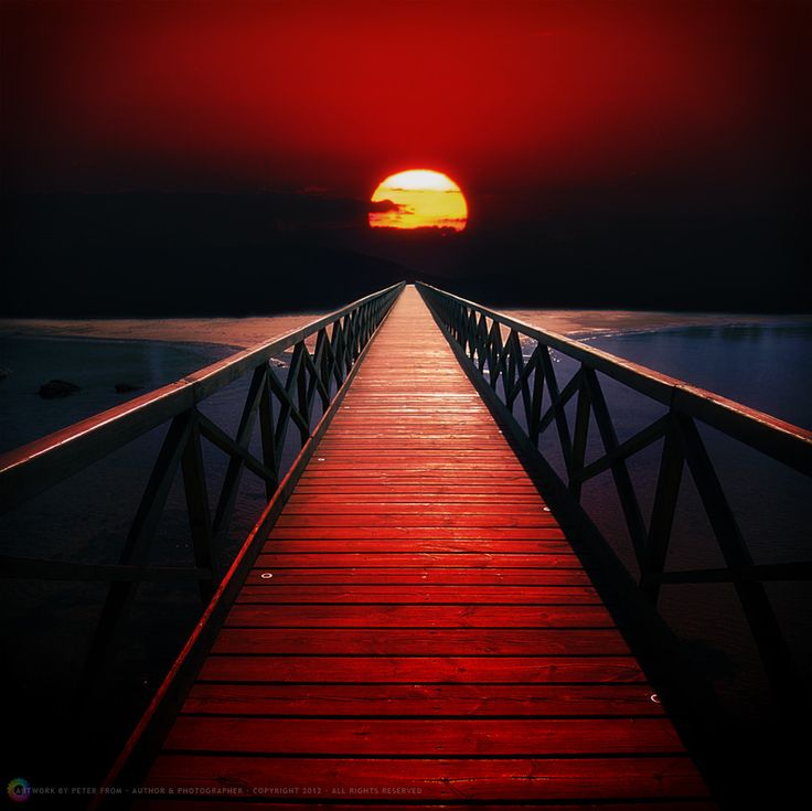Blood Red Sky by Peter From on 500px