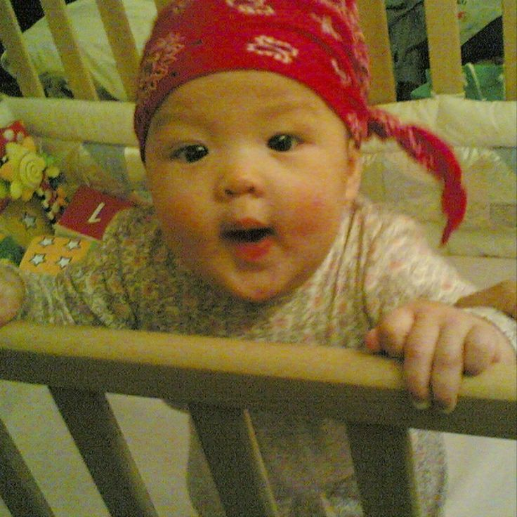DearJanet, About a month ago my baby started pulling to standing, which is wonderful andexciting. However, about two weeks ago she started standing in her crib immediately after I put her down for sleep. She holds onto the side of the crib and s