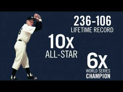 New York Yankees Retired Numbers: Whitey Ford - YouTube