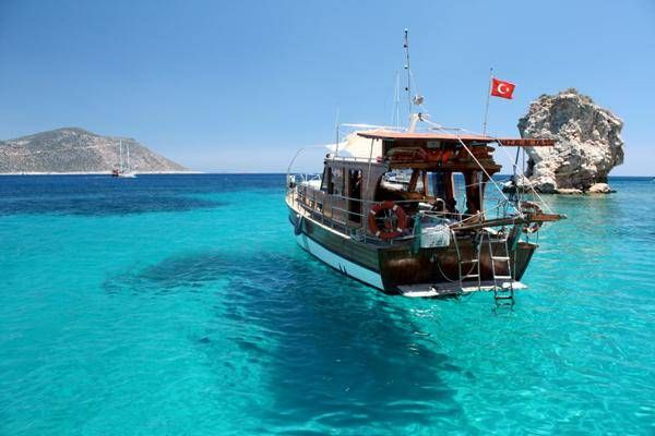 Turkish gulet cruises in Antalya, Turkey