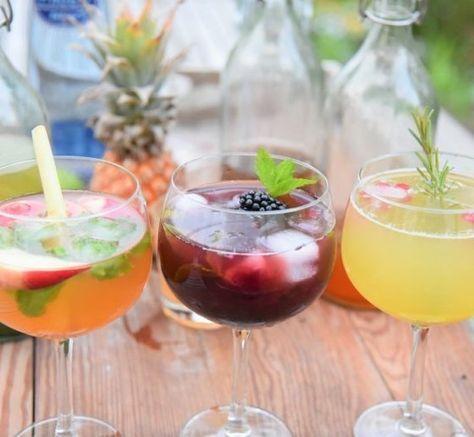 Drink je geen of weinig alcohol? Mocktails zijn de oplossing! Hier 3 recepten voor alcoholvrije cocktails met heerlijke ijsthee en vers fruit.