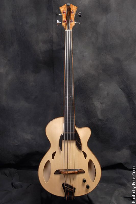 """Mirabella Guitars, Mirabella """"Trap Door"""" Acoustic Bass....oh what the hell. Another thing to rape my wallet with."""