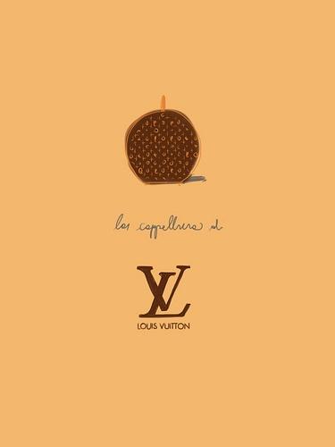 La Cappelliera di Vuitton.  #illustration Open Toe - opentoe.posterous.com