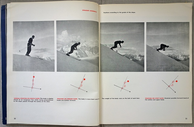 French Method: How to Ski - Emile Allais' Technic - 4 by Michael Stoll, via Flickr