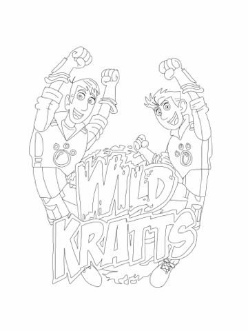 Wild Kratts Coloring Pages httpbecscoloringpagesblogspotcom