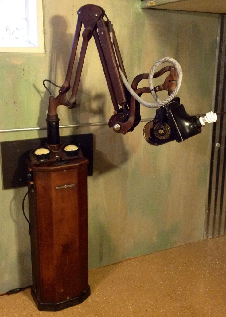 Antique Medical 1920's Dental Xray Machine Converted by P51Designs