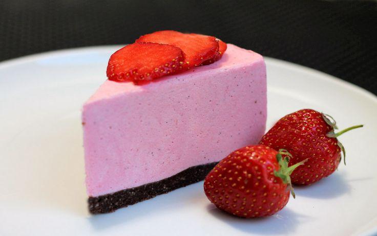 Erdbeer-Kaesekuchen-ohne-Backen