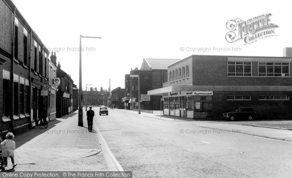 Widnes, Widnes Road c.1960, from Francis Frith