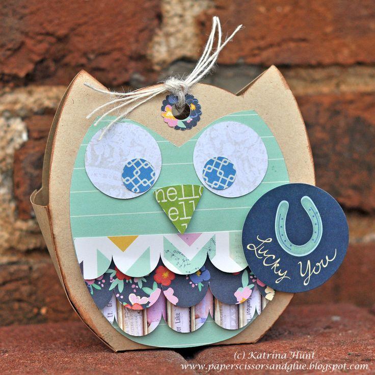 Owl Treat Bag By Katrina Hunt - Scrapbook.com
