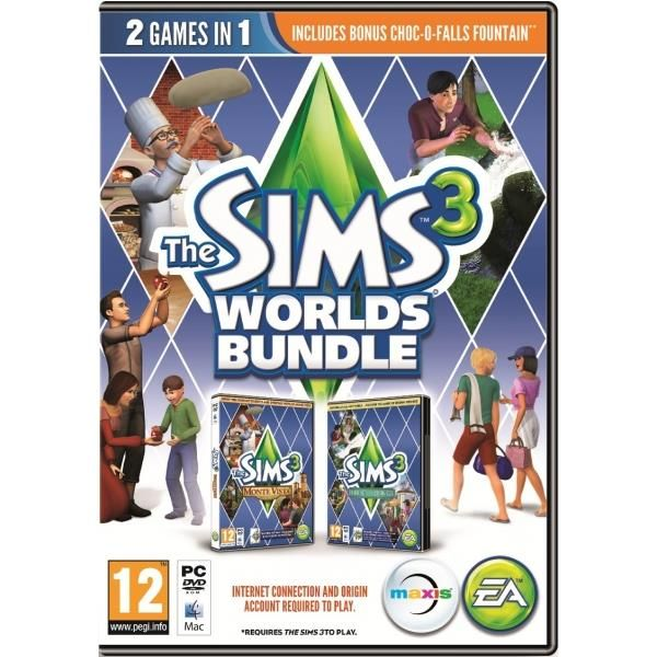 Sims 3 Worlds Bundle (includes Hidden Springs & Monte Vista) Game | http://gamesactions.com shares #new #latest #videogames #games for #pc #psp #ps3 #wii #xbox #nintendo #3ds