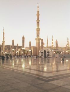 al-masjid al-nabawi (the prophet's mosque), madinah, saudi arabia | islamic art…