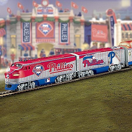 Philadelphia Phillies Express Major League Baseball Train Collection