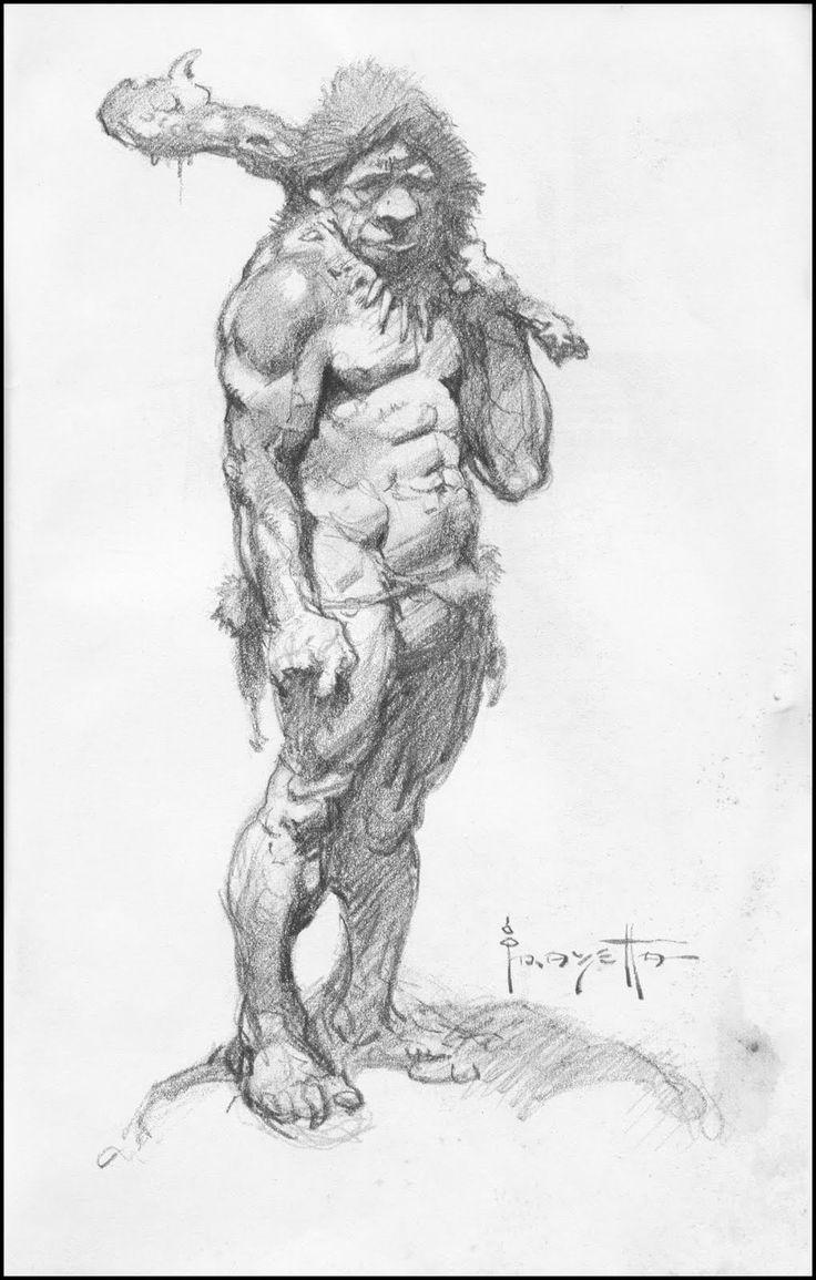 Frank Frazetta drawings - Google Search