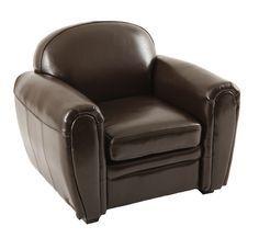 Sessel BABY CLUB - Farbe braun - Zoom