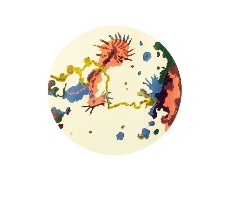 ARTFINDER: Ecological by Adam Grose - New series of Petrus prints based from the foundation set by collected soil samples except these are taken from watercolour and colour pencil studies explori...