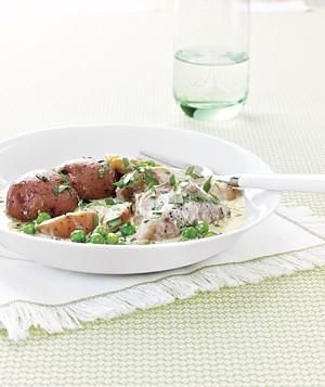 Chicken With Tarragon and Leeks recipe