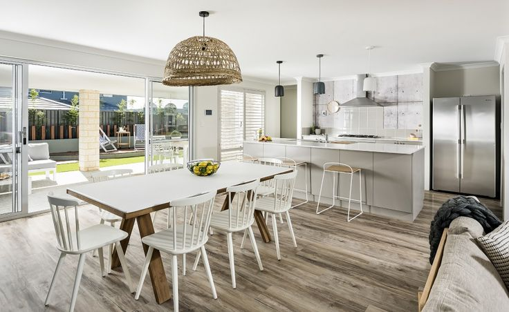 The casual dining offers direct access to the spacious undercover alfresco