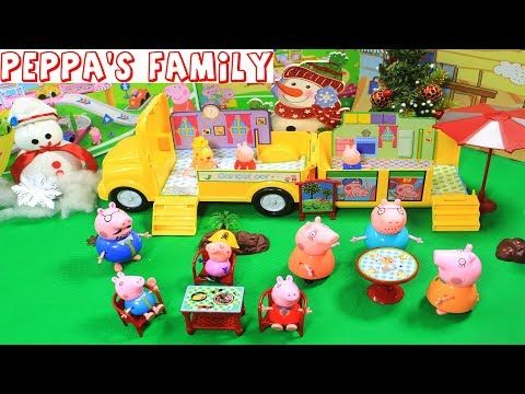 Peppa Pig Episodes   Merry Christmas Peppa in Toy City with Christmas So...