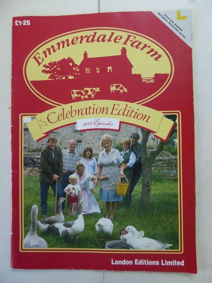 Emmerdale Farm Celebration Edition 1000 Episodes - 1985 London Editions Limited